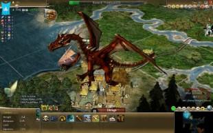 Hva med å ta over verden med en drage? (Foto: Fall From Heaven II mod)