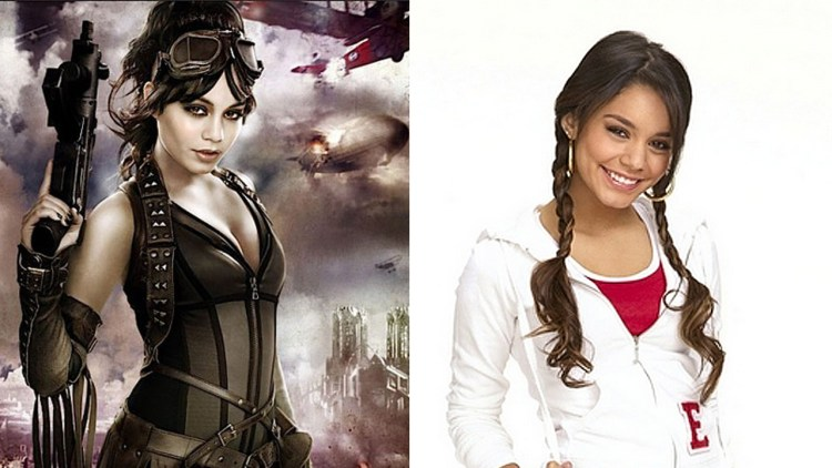 Vanessa Hudgens i High School musical og Sucker Punch. (Foto:Cruel & Unusual Films/picsdigger.com)