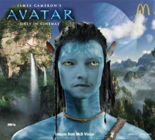 Rune som Avatar- FAIL. (Privat / 20th Century Fox)