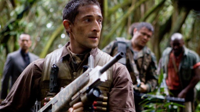 Adrien Brody i Predators. (Foto: 20th Century Fox)