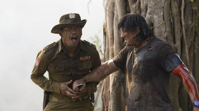 Sylvester Stallone tok en sjanse da han laget den siste Rambo-filmen. (Foto: SME/Euforia Film)