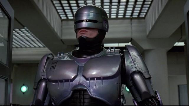 Peter Weller i RoboCop. (Foto: SF Norge)