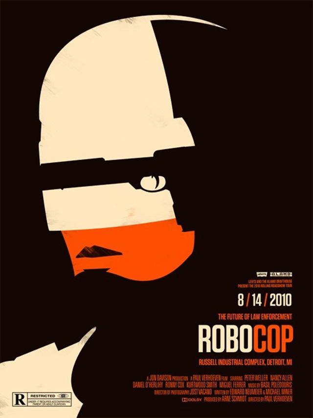Robocop (Ill: Olly Moss)