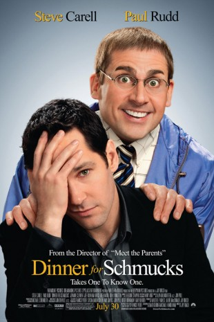 Dinner For Schmucks plakat. (Foto: UIP)