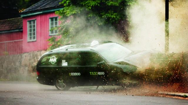 Taxi. (Foto: NRK)