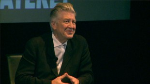 David Lynch på Filmens Hus. (Foto: NRK)
