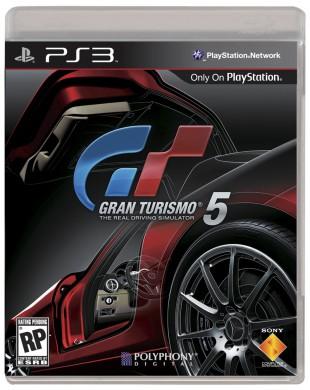 Gran Turismo 5 cover. (Foto: Sony Computer Entertainment)
