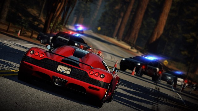 Mot veisperring i Need For Speed Hot Pursuit. (Foto: Electronic Arts)