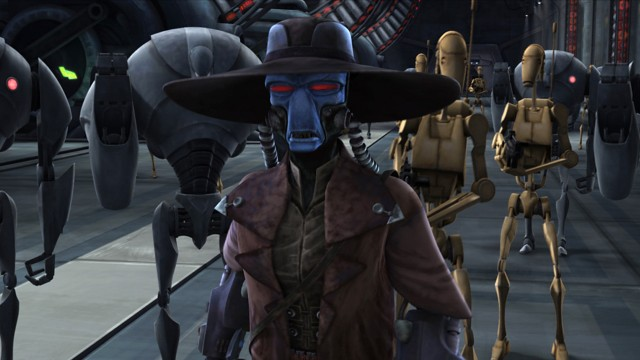 Møt Cad Bane i Star Wars The Clone Wars sesong 2! (Foto: Warner Bros. Entertainment)