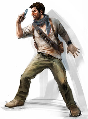Uncharted 3 game art. (Foto: Naughty Dog)