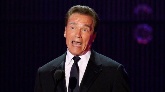Arnold Schwarzenegger på Critic's Choice Awards, 14. januar 2011. (Foto: REUTERS/Mario Anzuoni)