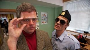 Are Kalvø og Kristoffer Joner spiller to av rollene i Hjelp, vi er russ. (Foto: Tappeluft Pictures)