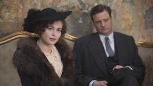 Helena Bonham Carter og Colin Firth i Kongens tale. (Foto: SF Norge)