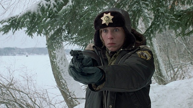 Frances McDormand i Fargo. (Foto: PolyGram Filmed Entertainment)