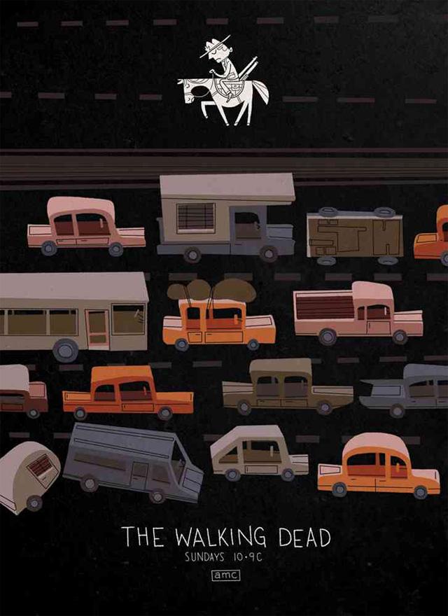 The Walking Dead (Ill: Andrew Kolb)