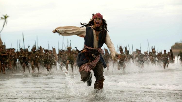 Johhny Depp i Pirates of the Caribbean. (Foto: Walt Disney Pictures Norway)