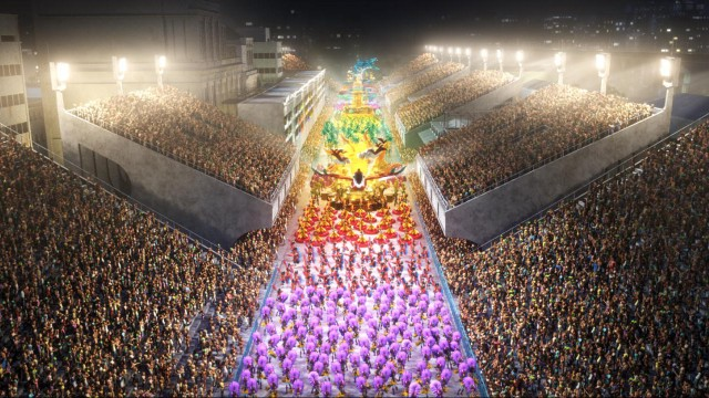 Digitalt karneval i Rio (Foto: 20th Century Fox).