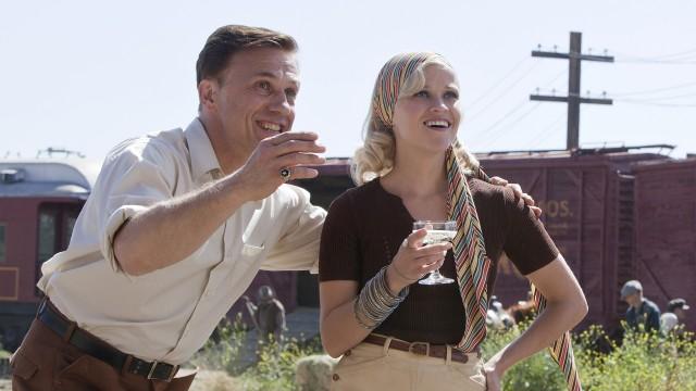 Christoph Waltz og Reese Witherspoon i Vann til elefantene (Foto: 20th Century Fox).