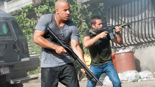 Vin Diesel og Paul Walker i Fast And Furious Five (Foto: UIP).