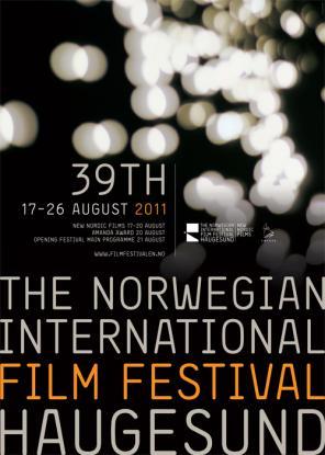 Filmfestivalen i Haugesund plakat (Foto: Den Norske Filmfestivalen).