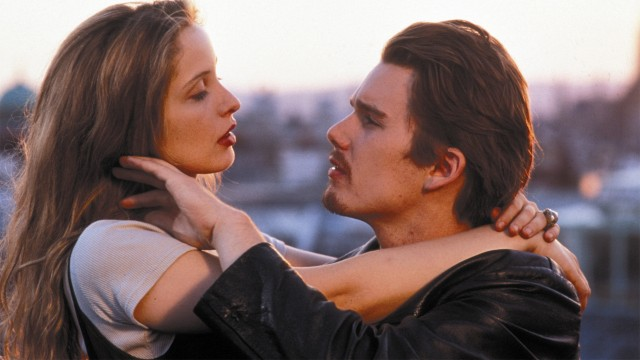 Julie Delpy og Ethan Hawke i Before Sunrise - Før soloppgang (Foto: Sandrew Metronome Video Norge AS).