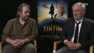 Peter Jackson og Steven Spielberg. (Foto: NRK)