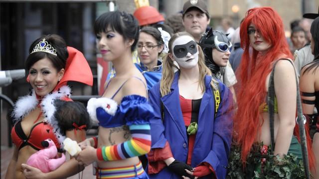 2011 Comic Con Dag 1. (Foto: AP Photo/Denis Poroy)