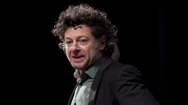"Andy Serkis er aktuell med filmen ""Rise of the Planet of the Apes"". Comic-Con 2011. (AP Photo/Gregory Bull)"
