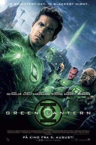 Green Lantern plakat (Foto: SF Norge AS).