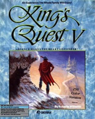 King's Quest V fra 1990 var tidlig ute med bruk av fortellerstemme. (Foto: Sierra)