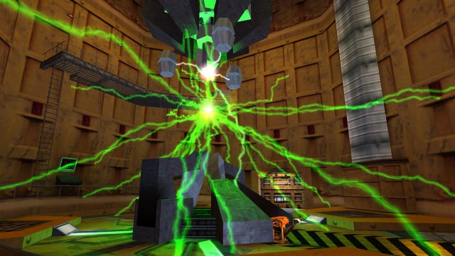 I Half-Life fikk du observere den katastrofale ulykken direkte, og hvis du var uforsiktig kunne du dø. (Foto: Valve)