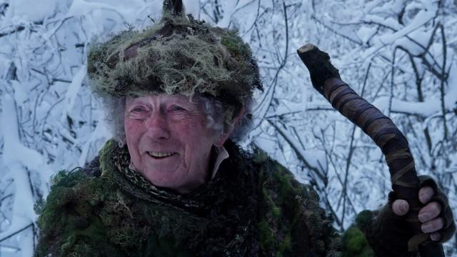 Toralv Maurstad som Mosetussen i Blåfjell 2 - Jakten på det magiske horn (Foto: Norsk Filmdistribusjon).