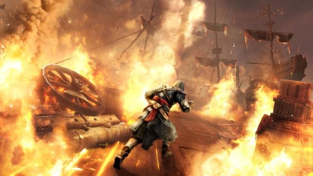 De lineære og forhåndsprogrammerte delene av fortellingen er klart best i Revelations. (Foto: Ubisoft)