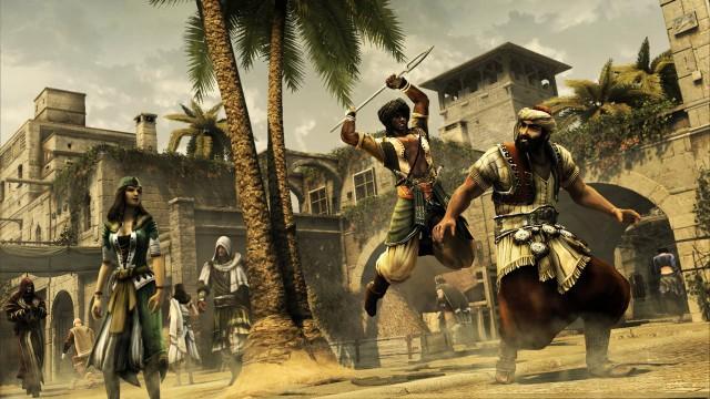 Var det du som bestilte et spyd i ryggen? (Arcanite Reaper hooooo!) (Foto: Ubisoft)
