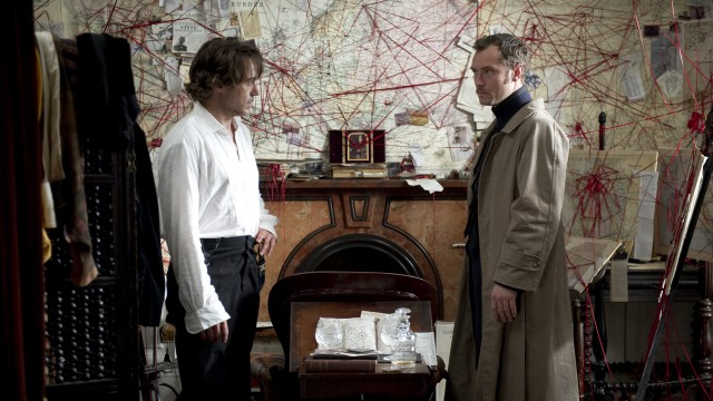 Robert Downey Jr. og Jude Law gjenforenes i Sherlock Holmes: A Game Of Shadows (Foto: Warner Bros. Pictures/ SF Norge AS).