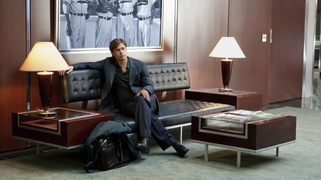 Brad Pitt spiller sportsdirektør Billy Beane i Moneyball (Foto: The Walt Disney Company Nordic).