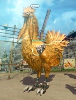 Chocobo i 'Final Fantasy XIII-2'. (Foto: Square Enix)