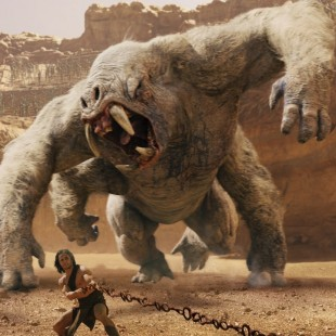 Taylor Kitsch mot animerte monstre i John Carter (Foto: The Walt Disney Company Nordic).