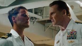 Taylor Kitsch og selveste Liam Neeson i Battleship (Foto: United International Pictures).