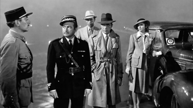 Fra den klassiske sluttsekvensen i Casablanca (Foto: Warner Bros. Entertainment).