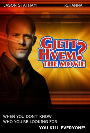 Fotomontasje av Gjett Hvem? - the movie plakat (Originalfoto: wallpaperskd.com og photovaco.com)