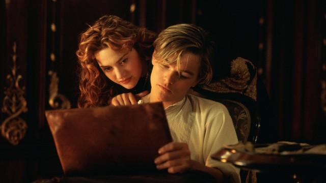 Kate Winslet og Leonardo DiCaprio med ungdommelig gnist i Titanic (Foto: 20th Century Fox).