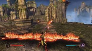 Slik som i Magicka og Dragon Age: Origins handler det om å få elementene til å samarbeide. (Foto: Sony Computer Entertainment)