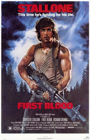 Rambo: First Blood - filmplakat fra 1982. (Foto: Orion Pictures)