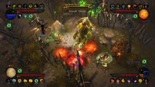 Fire spillere kan samarbeide og konkurrere enten lokal eller over nettverk på spillkonsollene Playstation 3 og Xbox 360. (Foto: Blizzard)