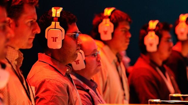 Spillere under E3-messa i 2011. (Foto: Kevork Djansezian/Getty Images/AFP)