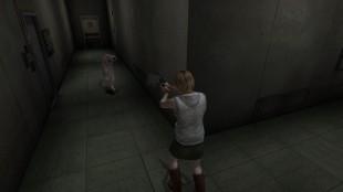 I Silent Hill 3 må tenåringsjenta Heather utforske sin tilknytning til Silent Hill.HD-samlingens peneste spill, men ikke nødvendigvis beste. (Foto: Konami)