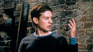 Tobey Maguire i den første Spider-Man-filmen fra 2001 (Foto: Nordisk Film Distribusjon AS).