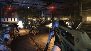 I «Aliens: Colonial Marines» får du ingen detaljer på skjermen (Foto: 2K Games).