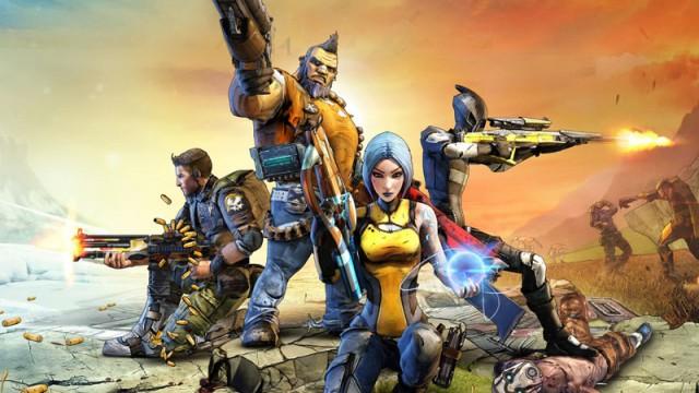 Borderlands 2 - dei fire klassene (Bilete: 2K Games).